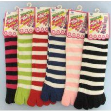 144 Units of Strip Toe Sock