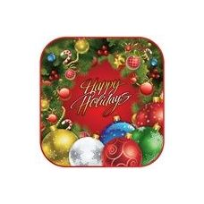 "144 Units of Holiday Wreath 7"" Plate - 8CT"