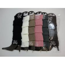 48 Units of Leg Warmers--Studded Bow - Arm / Leg Warmers