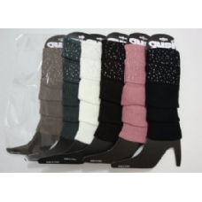 48 Units of Leg Warmers--Rhinestone Cuff - Arm / Leg Warmers