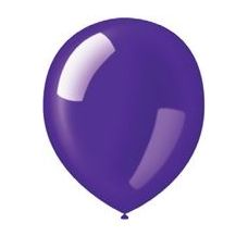 "40 Units of 72CT 12"" Deco-Deep Purple - Balloons & Balloon Holder"