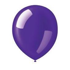 "40 Units of 72CT 12"" Deco-Deep Purple - Balloons/Balloon Holder"