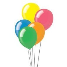 """40 Units of 72CT 12"""" Deco-Assorted - Balloons & Balloon Holder"""