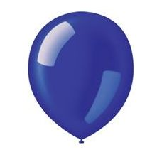 "40 Units of 72CT 12"" Deco-Royal Blue - Balloons & Balloon Holder"