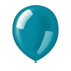 "20 Units of 72CT 12"" Deco-Aquamarine - Balloons & Balloon Holder"