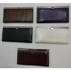 144 Units of 7.5x4 Expandable Ladies Wallet--Small Square - Wallets & Handbags