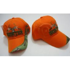 96 Units of HUNTER Hat--LIVE TO HUNT.HUNT TO LIVE [Target Shadow]-Orange Only - Hunting Caps
