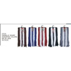 144 Units of Chenille Scarf - Winter Scarves