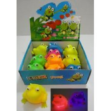 144 Units of Light Up Puffer Frog - Light Up Toys