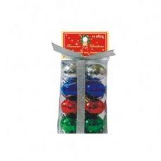 72 Units of Christmas Disco Ball ornaments- Multi Color