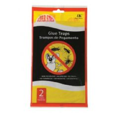72 Units of 2 Pack Flat Glue Board - Pest Control
