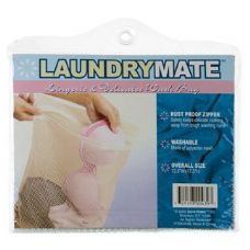 144 Units of Item# 439 Laundry Mate Lingerie Mesh Zippered Wash Bag - Laundry  Supplies