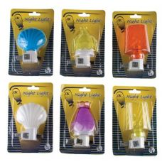 192 Units of Item# 500 UL Listed Nightlights With Bulb - Night Lights