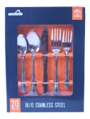 24 Units of 20 Pc. Formal Stainless Steel Cutlery Set. - Stainless Steel Cutlery Sets