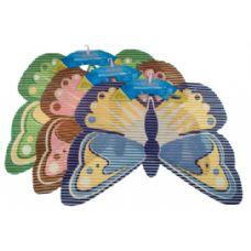 48 Units of Item# 4574 Non-Slip Mat Butterfly Shape - Bath Mats