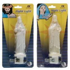 72 Units of UL Approved Religious Night Lights With Bulb - Night Lights