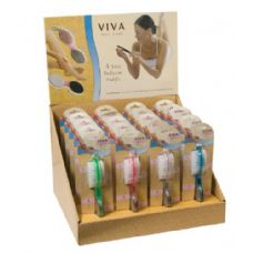 144 Units of Viva 4 Step Pedicure Paddle In Display Box