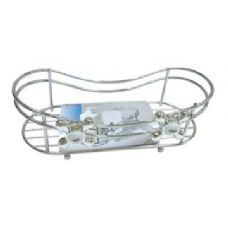 12 Units of Chrome Vanity Tray - Shower Accessories