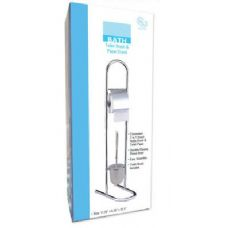 6 Units of Bath Toilet Brush And Paper Stand - Toilet Brush