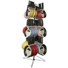 96 Units of Non-Stick Colored Fry Pan Display Rack Assorted Colors & Sizes-GREAT VALUE!! - Frying Pans and Baking Pans