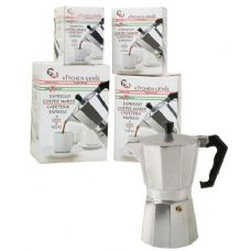 12 Units of Aluminum Espresso Maker 4 Sizes - Kitchen Gadgets & Tools