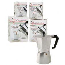 12 Units of Aluminum Espresso Maker 3 Cup - Kitchen Gadgets & Tools