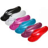48 Units of Ladies Slipper Sandals in ASSORTED COLORS SIZE 6-10