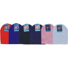 144 Units of Unisex Winter Ski Hat Assorted Colors