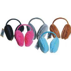 108 Units of Ladies Plush Ear Warmer - Ear Warmers