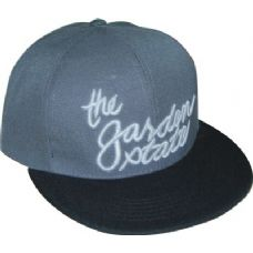 48 Units of Flat Fitted Baseball Cap With NJ Garden State Design - Baseball Caps & Snap Backs
