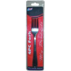 48 Units of 4 Pack Fork Set - Kitchen Cutlery