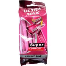 48 Units of Ladies 10 Pack Shaving Razors - Shaving Razors