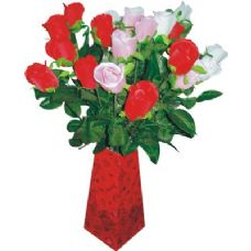 72 Units of 26Inch Rose In Dispaly - Valentines