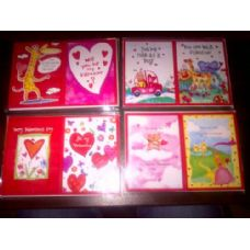 288 Units of Valentines Gift Card - Valentines