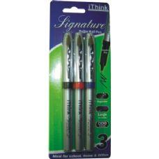 72 Units of 3 Piece Roller Tip Pen - Pens