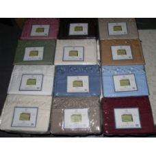 12 Units of Embroidery Microfiber Sheet Set Twin Size - Sheet Sets