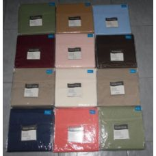 12 Units of Solid Micorfiber Sheet Set Queen Size - Sheet Sets