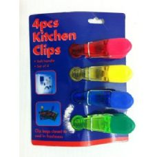 36 Units of 4pc Magnetic Bag Clips - MAGNETS/REFG. MAGNETS/SHAPE MG