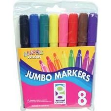 48 Units of 8 Ct. Jumbo Markers