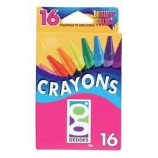 144 Units of 16 Ct.  Crayons - Chalk,Chalkboards,Crayons