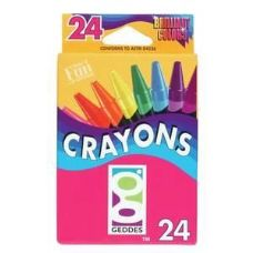 144 Units of 24 Ct.  Crayons - Chalk,Chalkboards,Crayons
