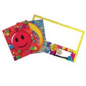 96 Units of Smiley Face  Folders - Folders and Report Covers
