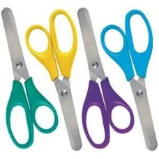 96 Units of 1 Ct. Safety Scissor - Scissors