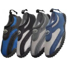 Wholesale Bulk Men's Wave Aquasocks Size 9-13
