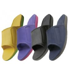 24 Units of Mens Super Cumfy Slide In Sandale - Men's Flip Flops & Sandals