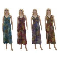 48 Units of Ladies Long Summer Dress - Womens Sundresses & Fashion