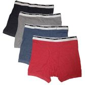 96 Units of 96 Units of Gildan First Quality Men's Boxer Briefs (Large) - Mens Underwear