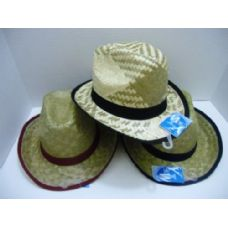 48 Units of Child's Straw Cowboy Hat - Cowboy & Boonie Hat