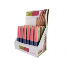 72 Units of 7 way nail file (24 per pdq) - Manicure and Pedicure Items