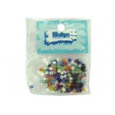 75 Units of Small pony beads, assorted colors